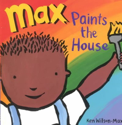 max paints the house
