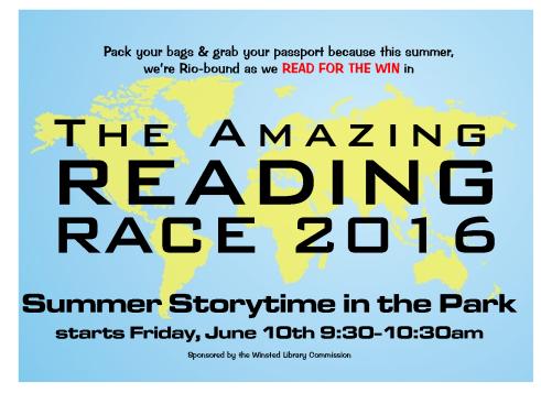 the amazing reading race Storytime