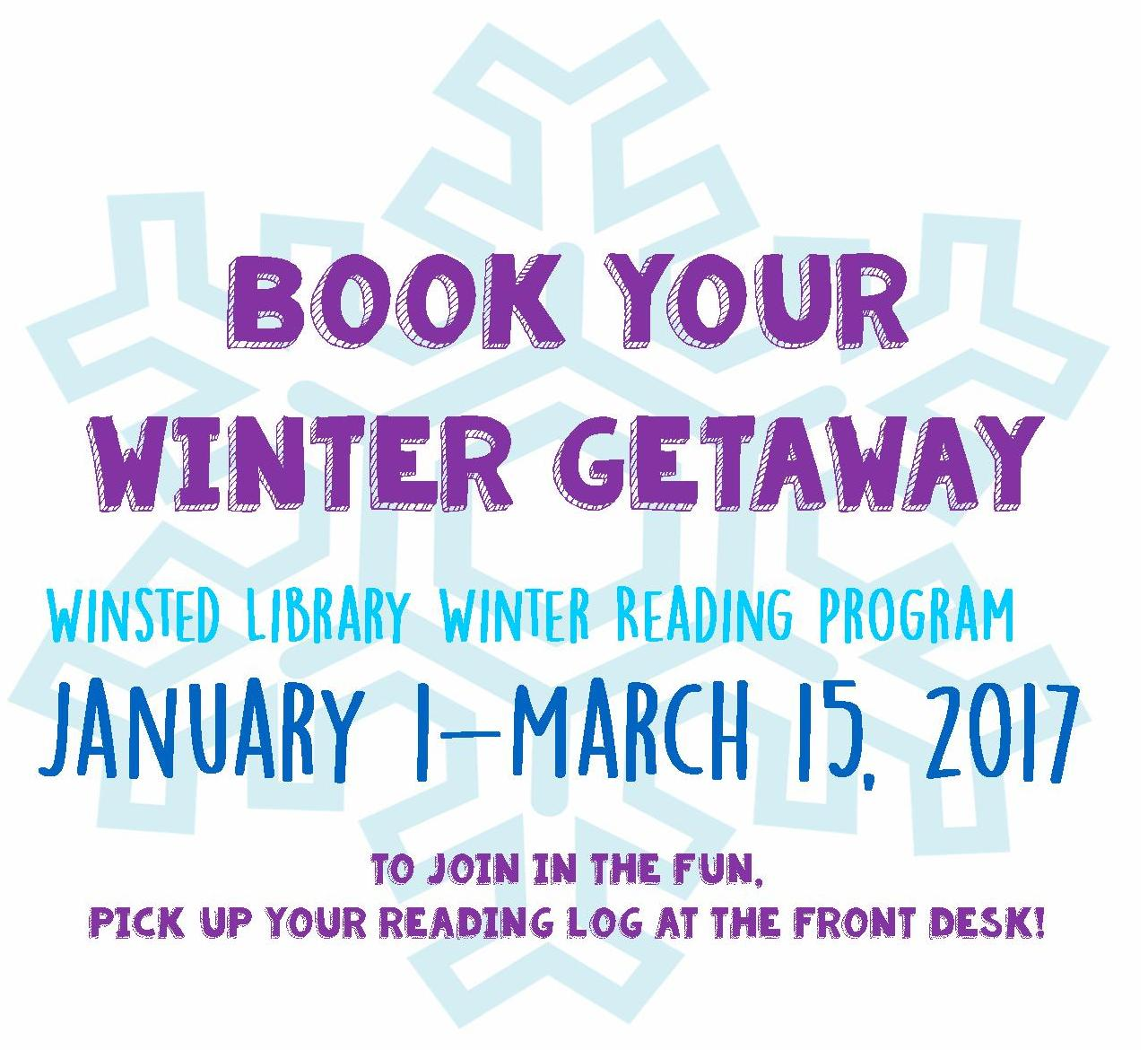 Winter Reading Program 2017
