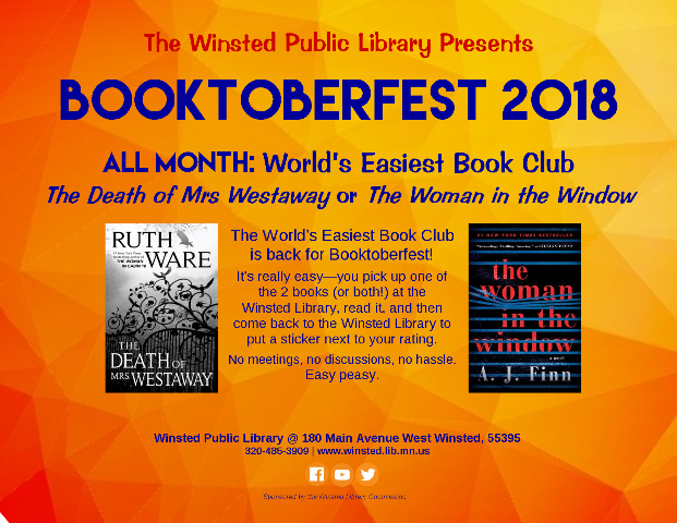 Winsted Public Library | Booktoberfest 2018